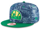 Seattle SuperSonics New Era NBA HWC D-TROP 9FIFTY Snapback Cap Adjustable Hats