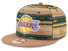 Los Angeles Lakers New Era NBA HWC The Natural Print 9FIFTY Snapback Cap Adjustable Hats