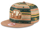 Seattle SuperSonics New Era NBA HWC The Natural Print 9FIFTY Snapback Cap Adjustable Hats