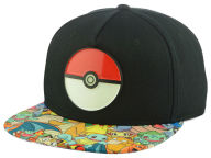 Pokemon Pokeball Snapback Hat Adjustable Hats