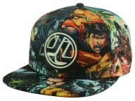 DC Comics Allover Snapback Hat Adjustable Hats