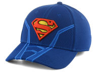 DC Comics Suited Flex Cap Stretch Fitted Hats