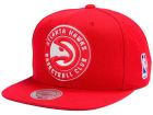 Atlanta Hawks Mitchell and Ness NBA XL Logo Snapback Cap Hats