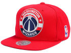 Washington Wizards Mitchell and Ness NBA XL Logo Snapback Cap Hats