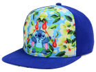 Lilo and Stitch Floral Front Stitch Snapback Hat Adjustable Hats