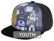 Star Wars Pixel Youth Snapback Cap Adjustable Hats