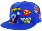 DC Comics Superman Patchwork Snapback Hat Adjustable Hats