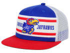 Kansas Jayhawks Top of the World NCAA Superstripe Snapback Cap Hats