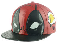 Deadpool Character Face 59FIFTY Cap Fitted Hats