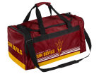 Arizona State Sun Devils Forever Collectibles Striped Core Duffle Bag Luggage, Backpacks & Bags