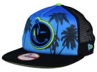 YUMS South Beach Palm 2.0 Trucker 9FIFTY Snapback Cap Adjustable Hats