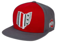J America NCAA Helmets On Ohio Snapback Hat Hats