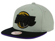 Mitchell and Ness NBA XL Grayout Snapback Cap Adjustable Hats