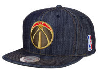 Mitchell and Ness NBA Dark Denim Snapback Cap Adjustable Hats