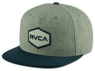 RVCA Hex Hat Snapback Hats
