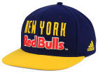 New York Red Bulls adidas MLS Jersey Snapback Cap Adjustable Hats