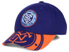 New York City FC adidas MLS Jersey Flex Cap Stretch Fitted Hats