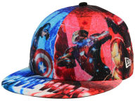 Marvel All Over Civil War 59FIFTY Cap Fitted Hats