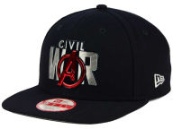 Marvel Title Chrome Civil War 9FIFTY Snapback Cap Adjustable Hats