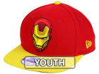 Marvel Ironman Jr Logo Grand 9FIFTY Snapback Cap Adjustable Hats