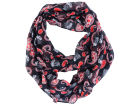 Chicago Blackhawks Forever Collectibles All Over Logo Paisley Infinity Scarf Apparel & Accessories