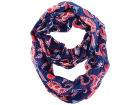 New England Patriots Forever Collectibles All Over Logo Paisley Infinity Scarf Apparel & Accessories
