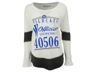 NCAA Women's Harper Zip Code Contrast Boyfriend Long Sleeve Therma Shirt Thermals