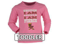 NCAA Toddler Girls Little and Fierce Long Sleeve T-Shirt T-Shirts