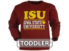 Iowa State Cyclones NCAA Toddler Girls Stacked Hearts Fleece Sweatshirt
