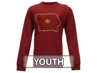 NCAA Youth Name State Outline Long Sleeve T-Shirt T-Shirts