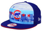 Chicago Cubs New Era Cubs City Pack 9FIFTY Snapback Cap Adjustable Hats