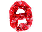 Chicago Bulls Forever Collectibles All Over Logo Infinity Wrap Scarf Apparel & Accessories