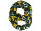 Green Bay Packers Forever Collectibles All Over Logo Infinity Wrap Scarf Apparel & Accessories