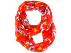 Kansas City Chiefs Forever Collectibles All Over Logo Infinity Wrap Scarf Apparel & Accessories
