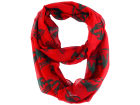 Minnesota Wild Forever Collectibles All Over Logo Infinity Wrap Scarf Apparel & Accessories