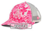Los Angeles Angels New Era MLB Youth Flower Power 9FORTY Cap Adjustable Hats