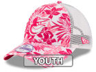 Baltimore Orioles New Era MLB Youth Flower Power 9FORTY Cap Adjustable Hats