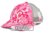 Kansas City Royals New Era MLB Youth Flower Power 9FORTY Cap Adjustable Hats