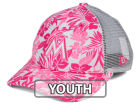 Miami Marlins New Era MLB Youth Flower Power 9FORTY Cap Adjustable Hats