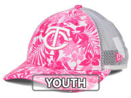 New Era MLB Youth Flower Power 9FORTY Cap Adjustable Hats