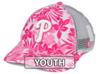 Philadelphia Phillies New Era MLB Youth Flower Power 9FORTY Cap Adjustable Hats
