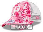 Pittsburgh Pirates New Era MLB Youth Flower Power 9FORTY Cap Adjustable Hats