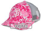 San Francisco Giants New Era MLB Youth Flower Power 9FORTY Cap Adjustable Hats