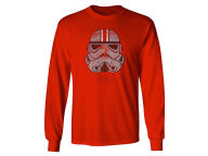 J America NCAA Men's Star Wars Storm Trooper Long Sleeve T-Shirt T-Shirts