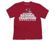 NCAA Men's National Champ Verbiage T-Shirt T-Shirts