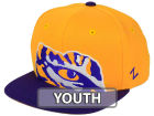 LSU Tigers Zephyr NCAA Youth Peek Snapback Hat Adjustable Hats
