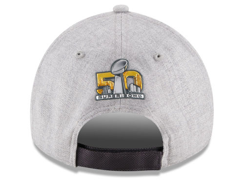 Carolina Panthers New Era NFL Super Bowl 50 Conference Champ Locker Room 9FORTY Cap Hats
