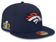 New Era NFL Super Bowl 50 On Field Patch 59FIFTY Cap Fitted Hats