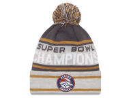 New Era NFL Super Bowl 50 Champ Pom Knit Hats