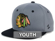 Zephyr NHL Youth Z11 Slate Snapback Cap Adjustable Hats